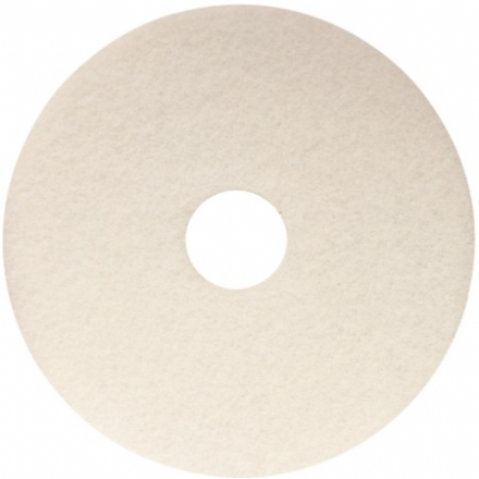"17"" White Cleaning Pad"